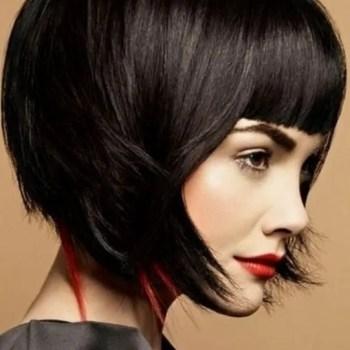 Trendy-Short-Hairstyles-for-Blunt-Bangs-2014-2015