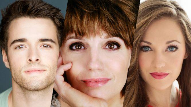 The Bandstand stars Corey Cott, Beth Leavel, and Laura Osnes.