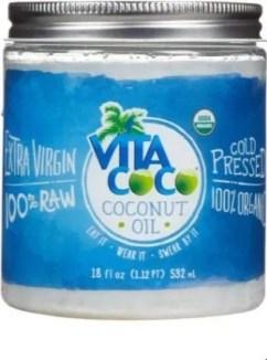 VitaCoco Extra Virgin Coconut Oil, $8