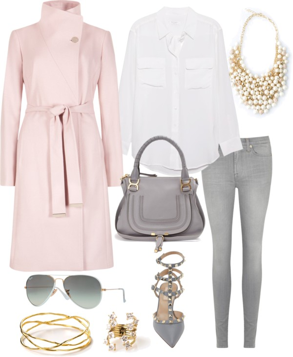 Spring Outfit Inspo Pink Peonies Jewelry
