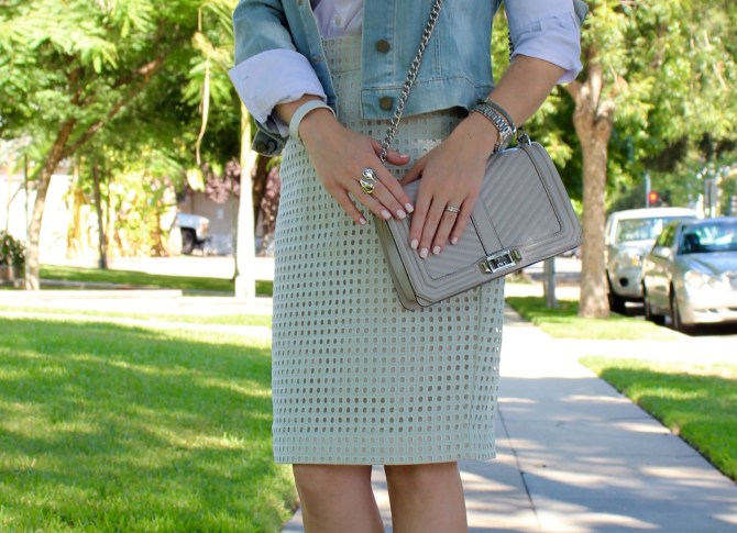 Pencil Skirt_Jean Jacket_Button Down_3