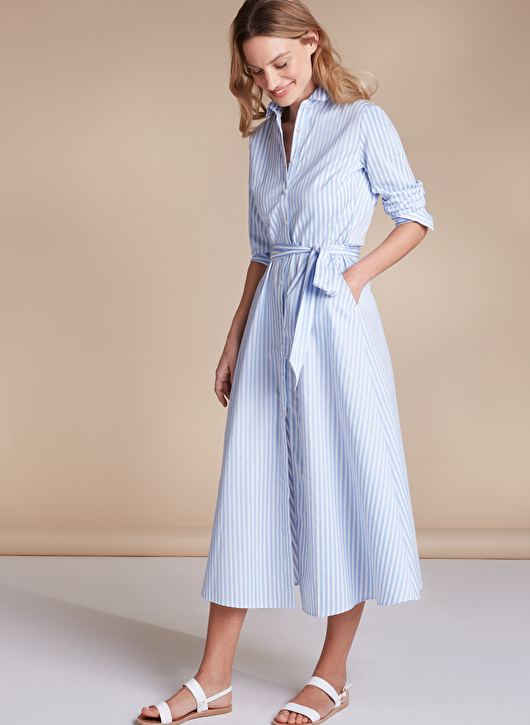 stable quality exclusive deals volume large Blue and white striped shirt dresses - 5 of the best for the ...