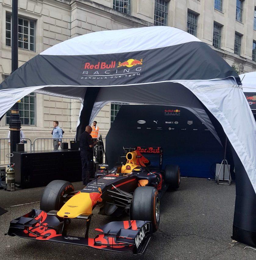 F1 Live London paddock