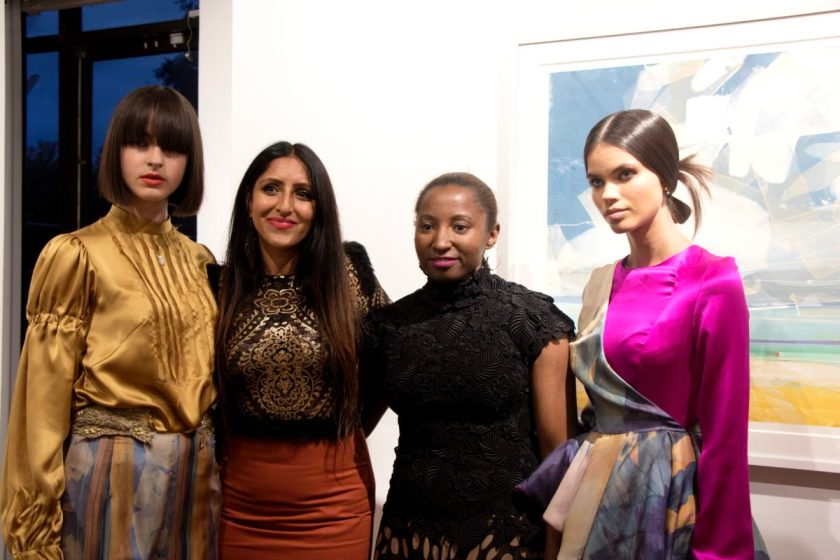 Siah Howard L'Atelier Coutureat the Bankside Gallery.