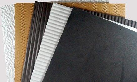 Lanzan placas de Eva con textura porosa