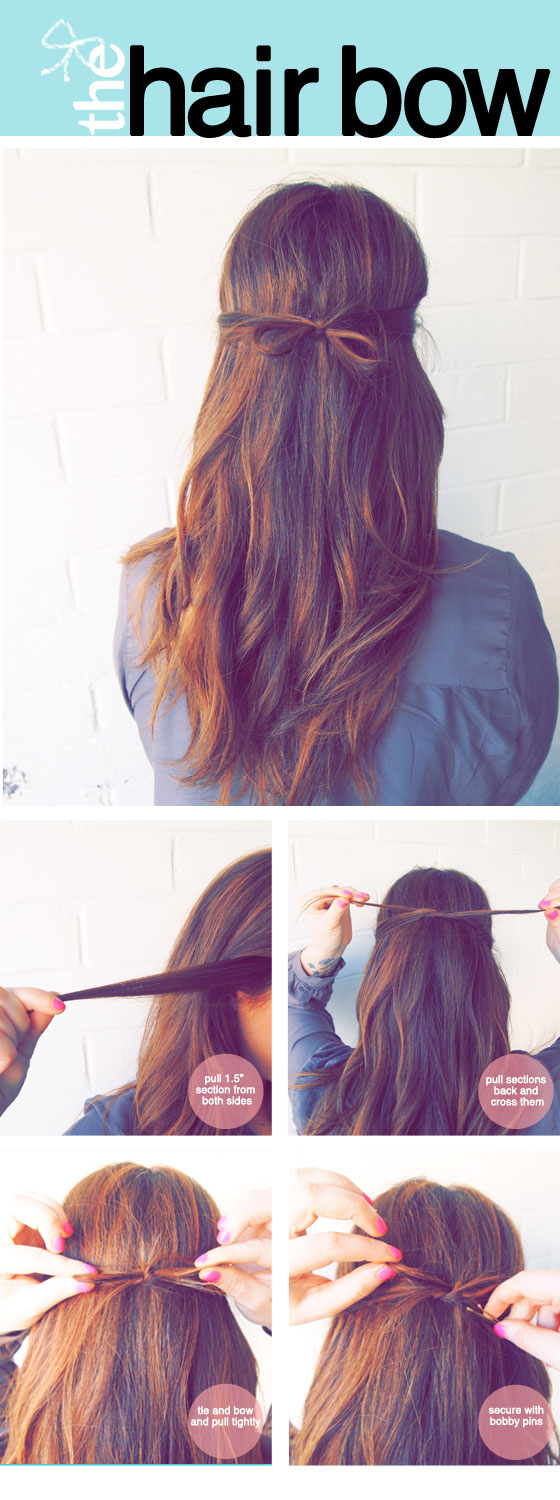 55 do it yourself, easy hairstyles (with tutorial)