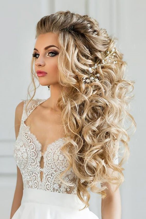 Image Result For Brides Hairstyles Long Hair