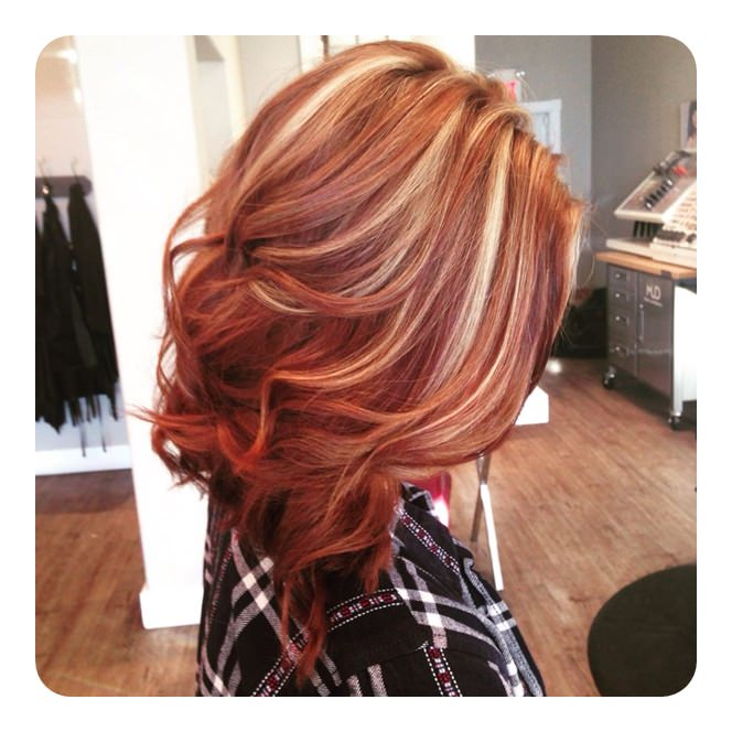 Image Result For Red Long Hair Styles