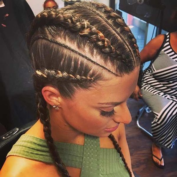 warm braid style feed in braid hairstyles. - 45040418 feed in braids - Ladies: Choose From These Gorgeous Feed in Braid Hairstyles for your New Look