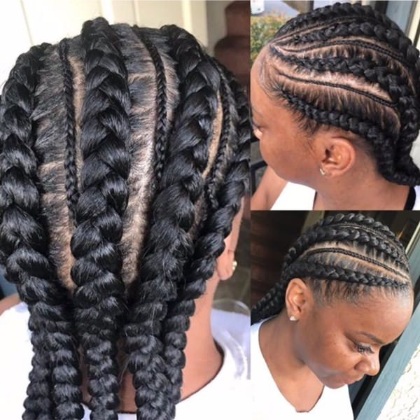 Cool and Simple braiding hairstyle feed in braid hairstyles. - 80040418 feed in braids 1 1 - Ladies: Choose From These Gorgeous Feed in Braid Hairstyles for your New Look