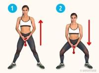 selülit için egzersiz hareketleri
