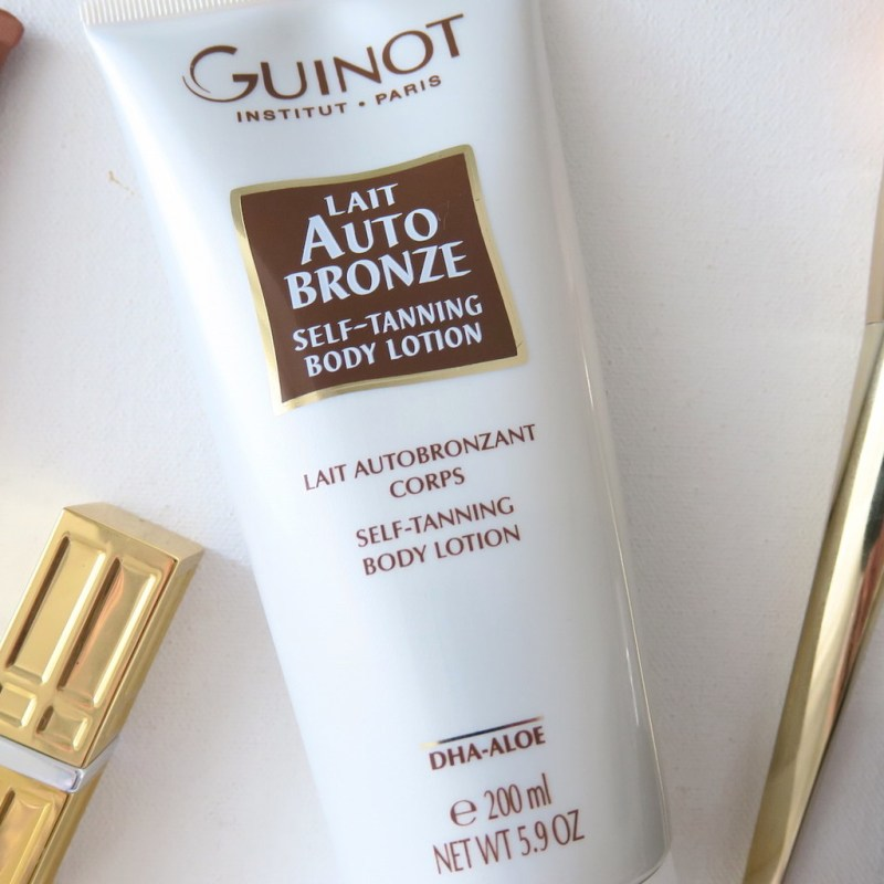 CURRENTLY LOVING: GUINOT LAIT AUTO BRONZE GRADUAL TANNER
