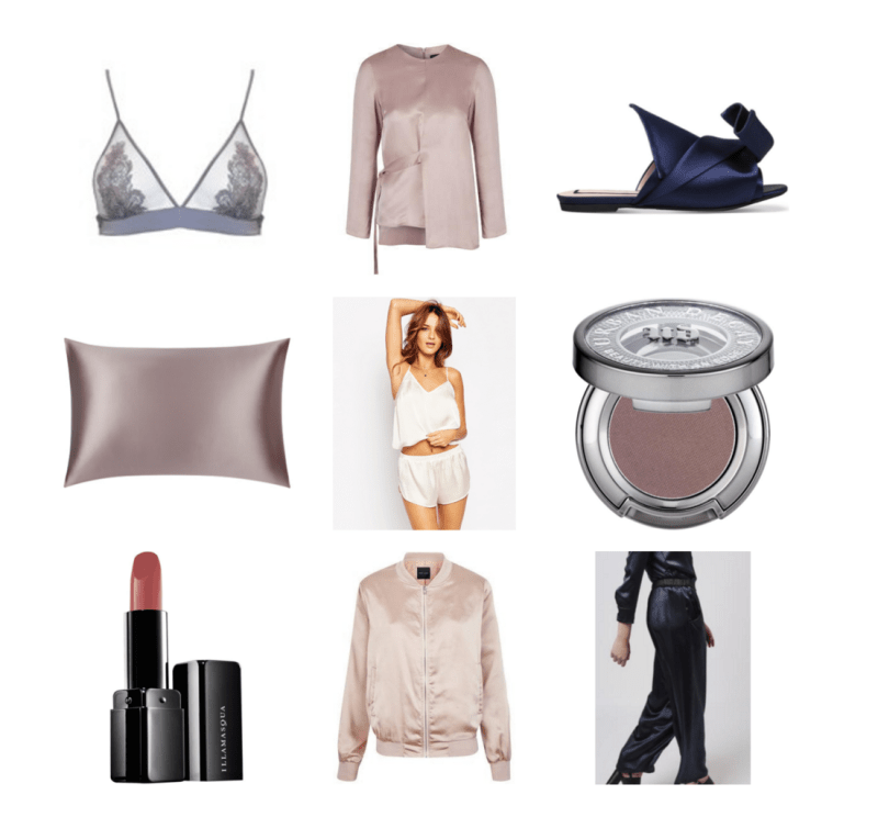 MARCH LUST LIST: SILKS & SATINS