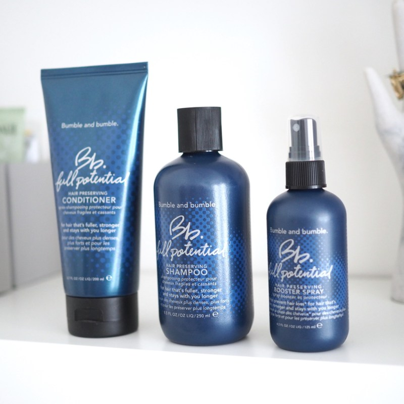 BUMBLE & BUMBLE FULL POTENTIAL RANGE