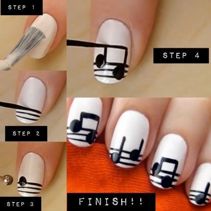 Lace Nail Design Diy