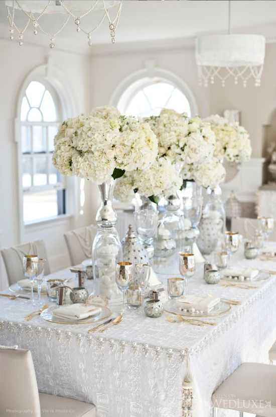 20 Pure White Wedding Decor Ideas For Romantic