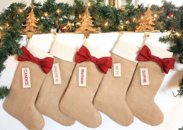 15 Beautiful Handmade Christmas Stocking Designs Style