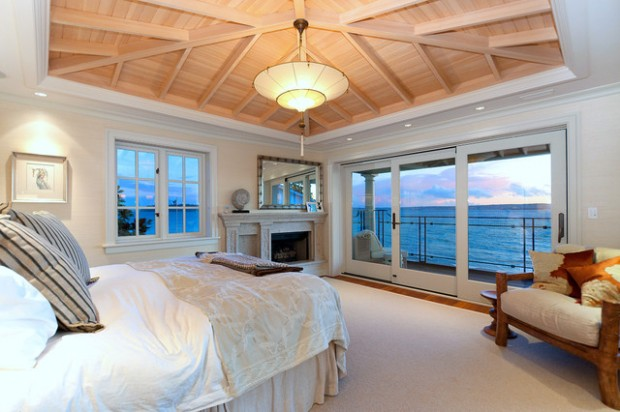 20 Master Bedrooms With Breathtaking Ocean View Style