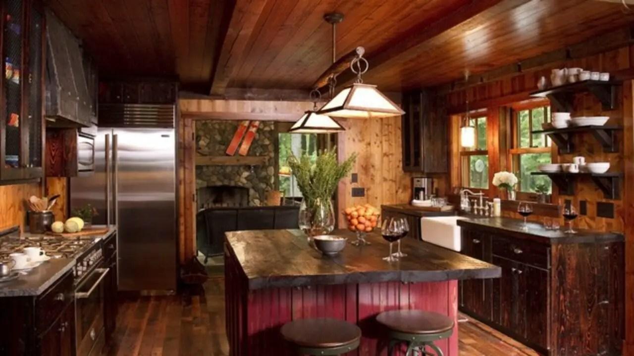 20 Cozy Rustic Kitchen Design Ideas