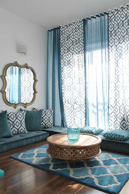 Moroccan Living Room Decorating Ideas