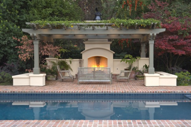 Pergola By The Pool 20 Landscaping Design Ideas Style