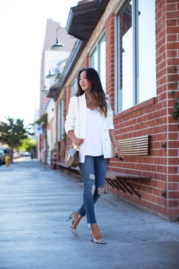 White Blazer 19 Stylish Outfit Ideas Ideal For Spring