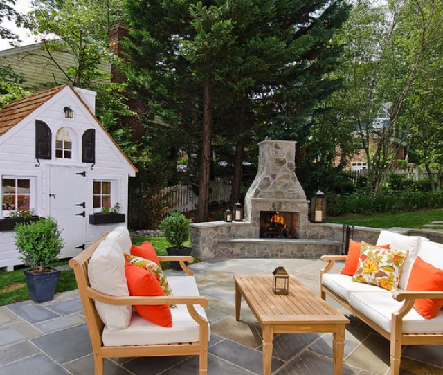 Patio Fireplace Design Ideas For Your Outdoore