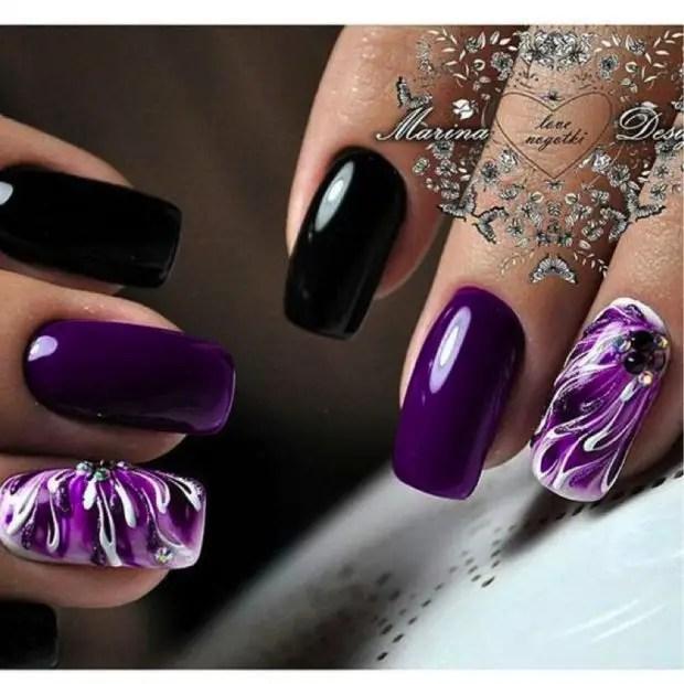 Trendy Purple Nail Ideas