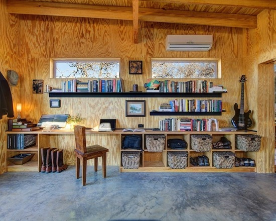 18 Great Cabin Home Office Design Ideas in Rustic Style