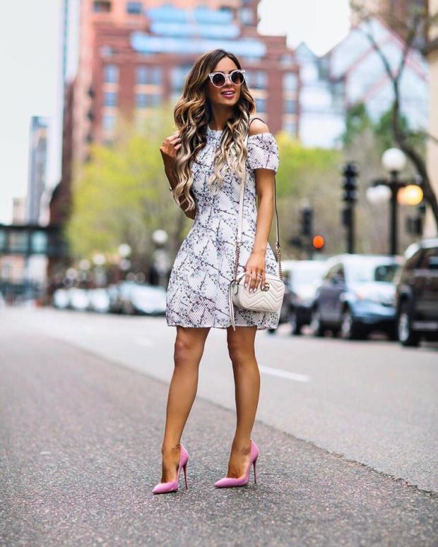 15 Cute Dress Outfit Ideas for Spring and Summer