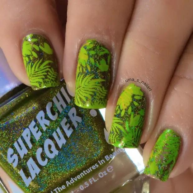 Print On Your Nails:15 Creative Nail Art Ideas