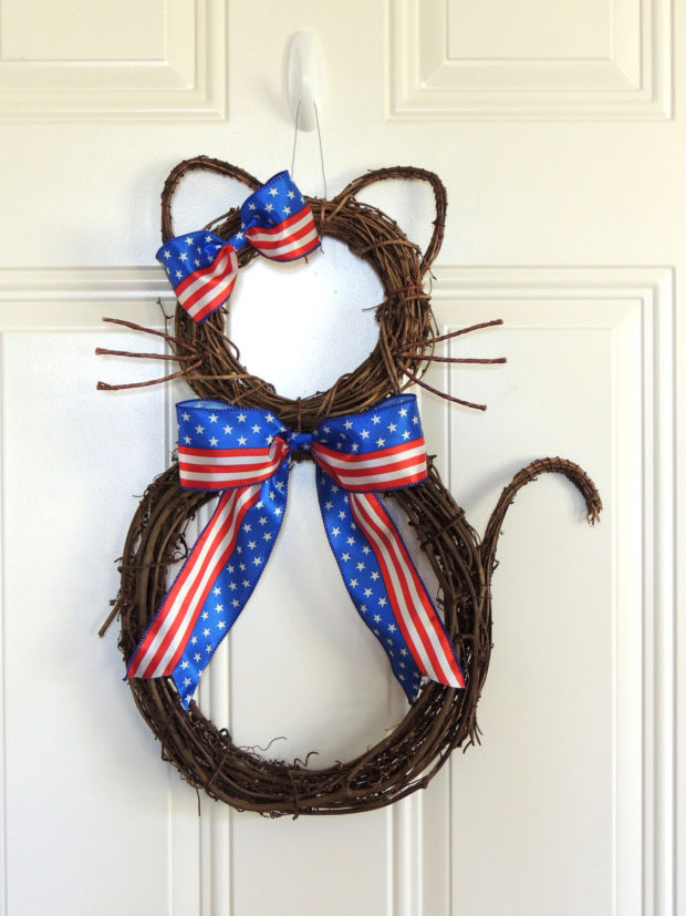 15 Patriotic Handmade Wreath Designs For 4th Of July