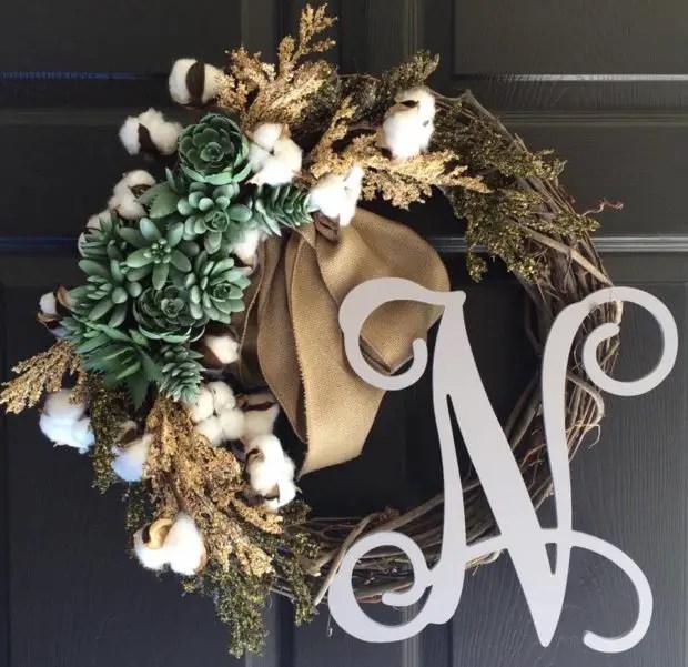 15 Refreshing Handmade Summer Wreath Designs For Your Front Door