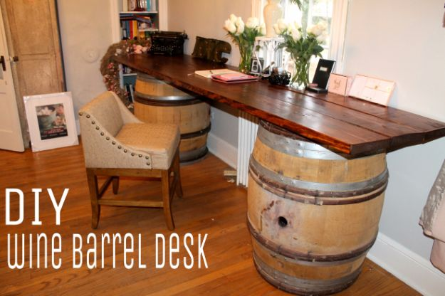 16 Amazing DIY Ideas Made From Repurposed Wine Barrels