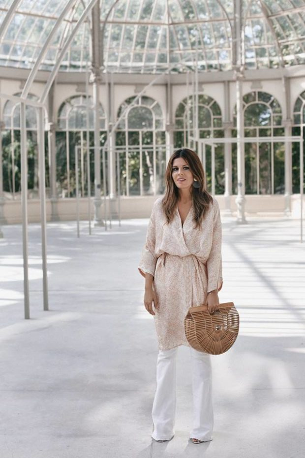 15 Stylish Summer Outfit Ideas with Wide Leg Pants