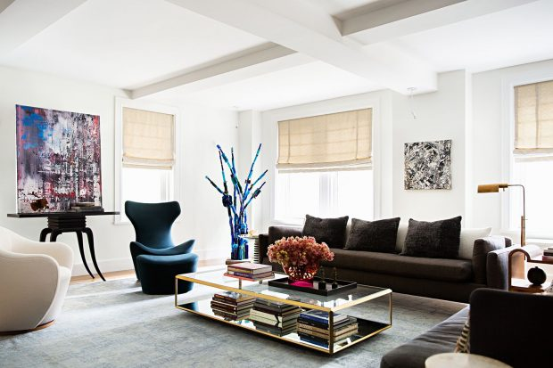 How To Create Ambiance In Your Space - wall art, Living room, lighting, ambiance