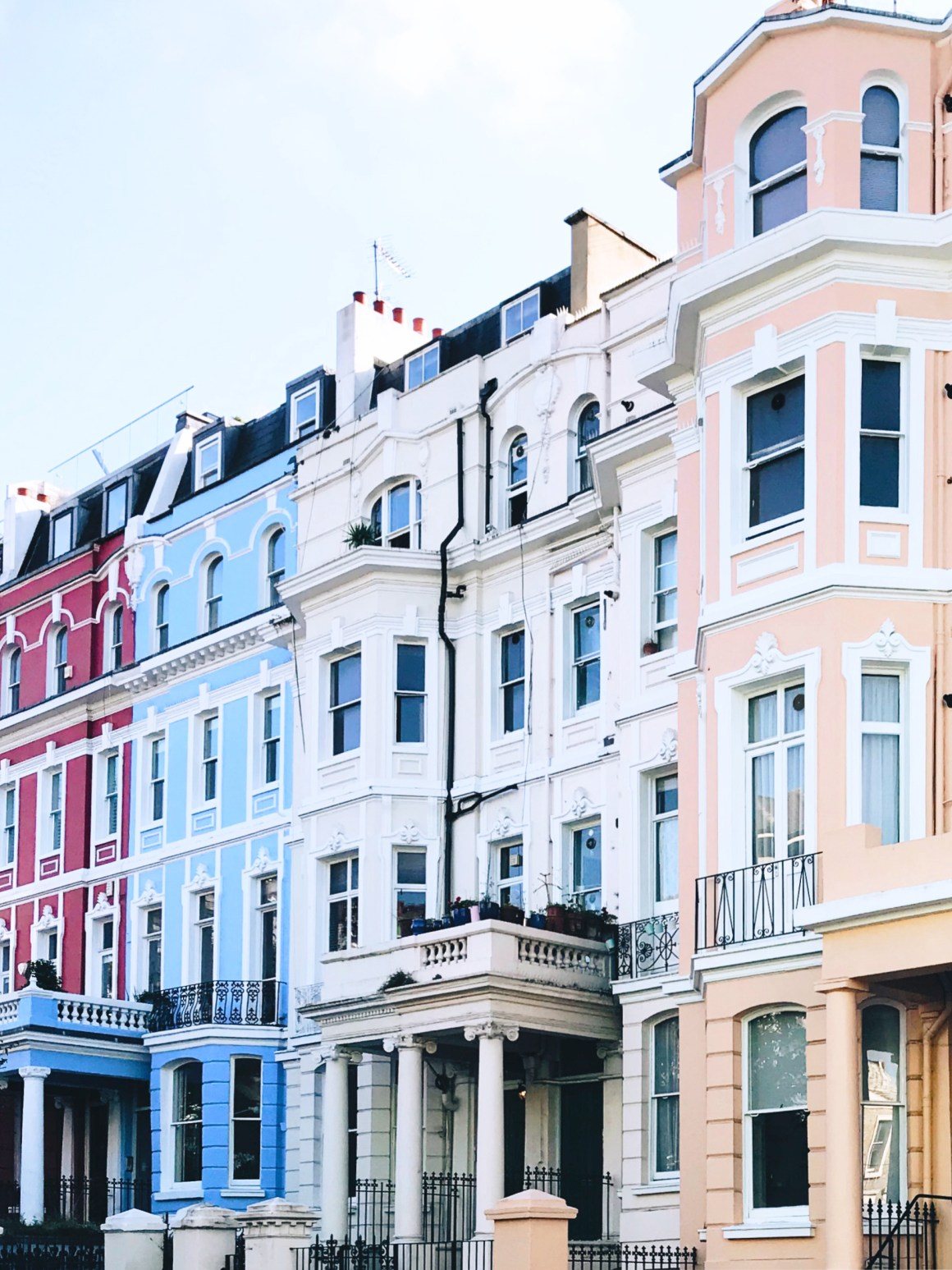 Colourful houses, London