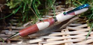 Stylo bille en bois associés