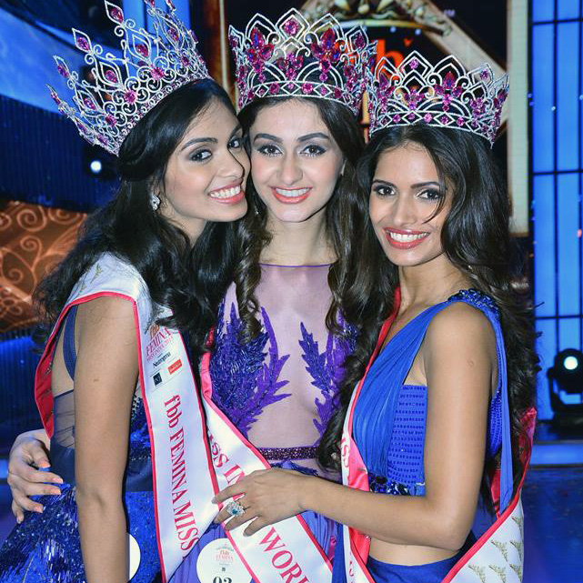 From left: Vartika Singh, Aditi Arya, Afreen Racheal