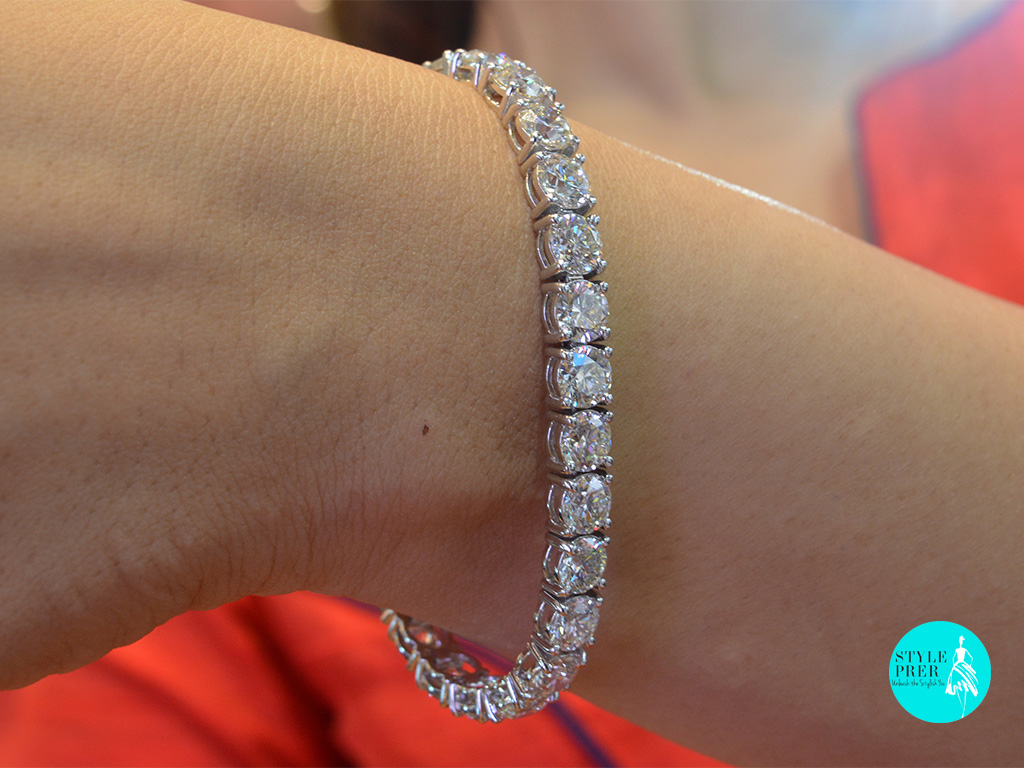 Diamond Tennis Bracelet- Renuka Fine Jewels