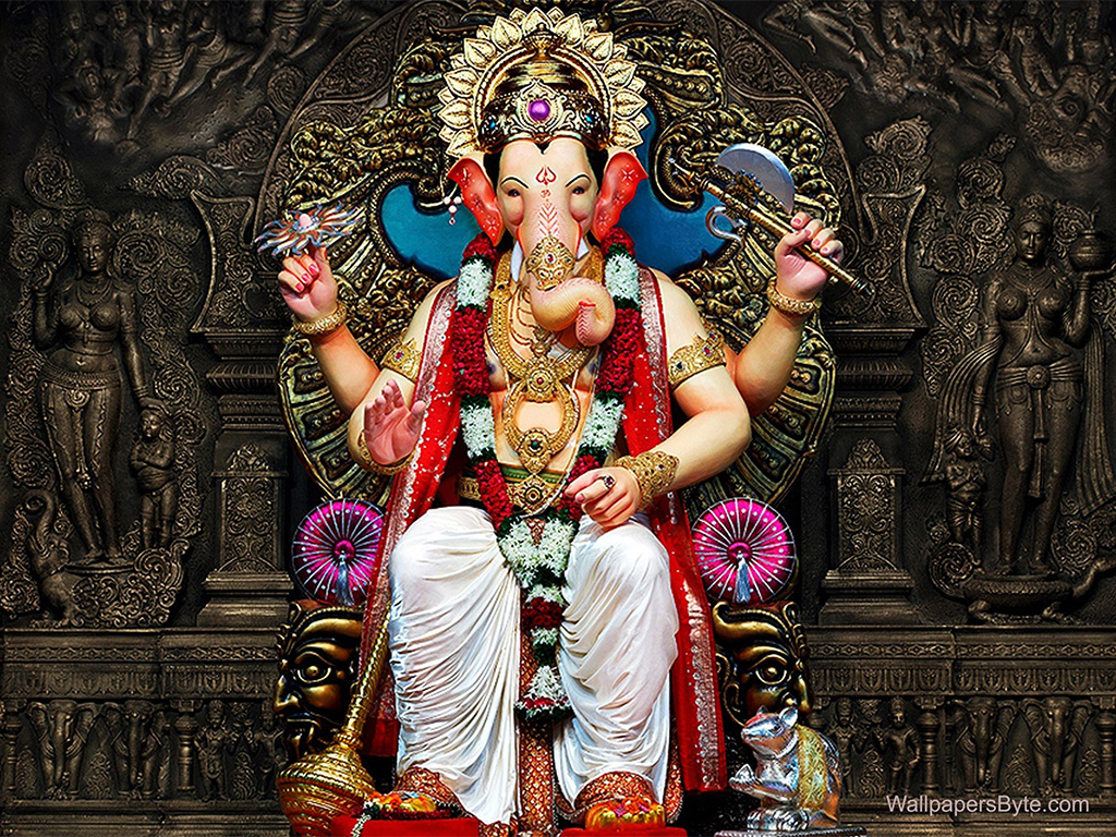 Lalbaughcha Raja, Biggest Ganpati In Mumbai. PC-wallpapersbyte.com