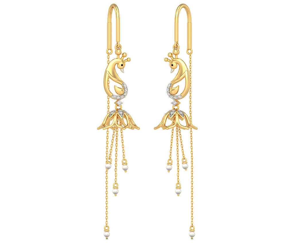 SuiDhaga Earrings From Bluestone.