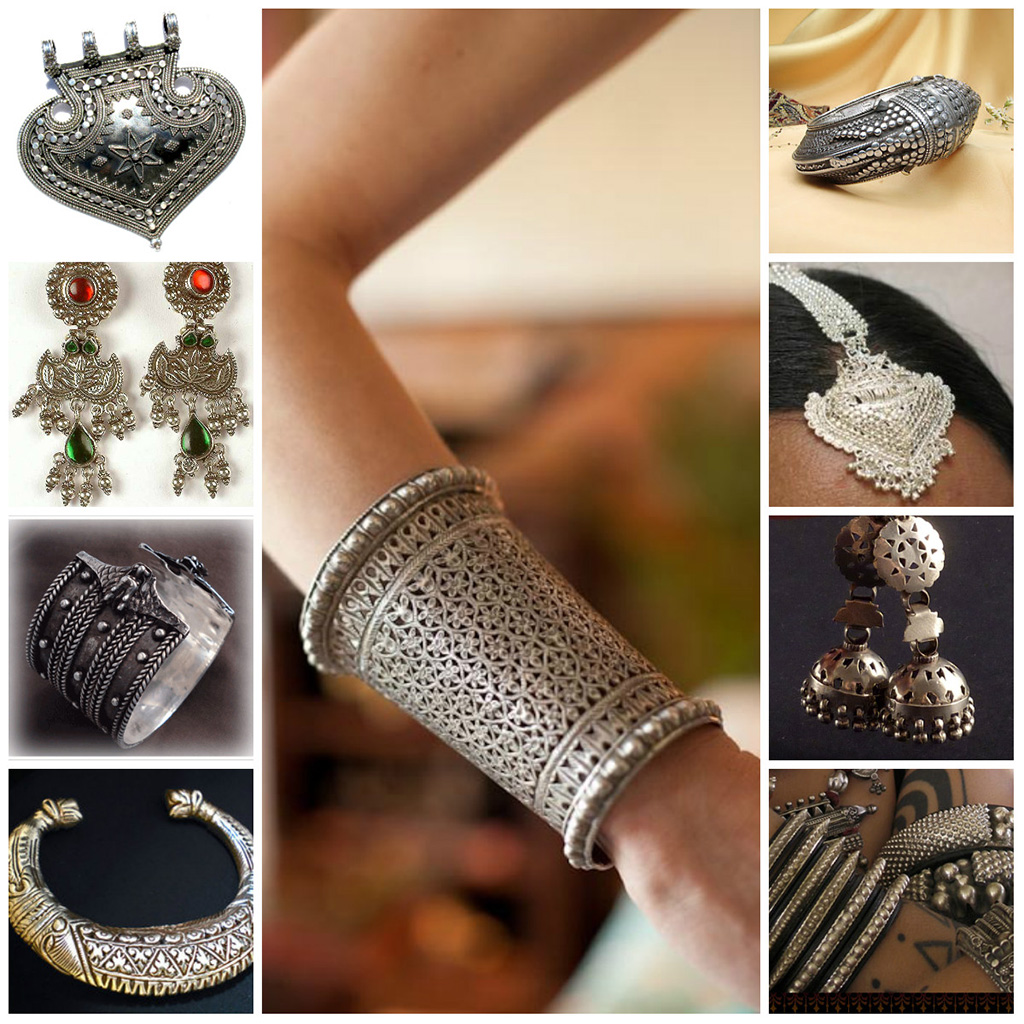 Handmade Indian Silver Jewelry-Pinterest.Com