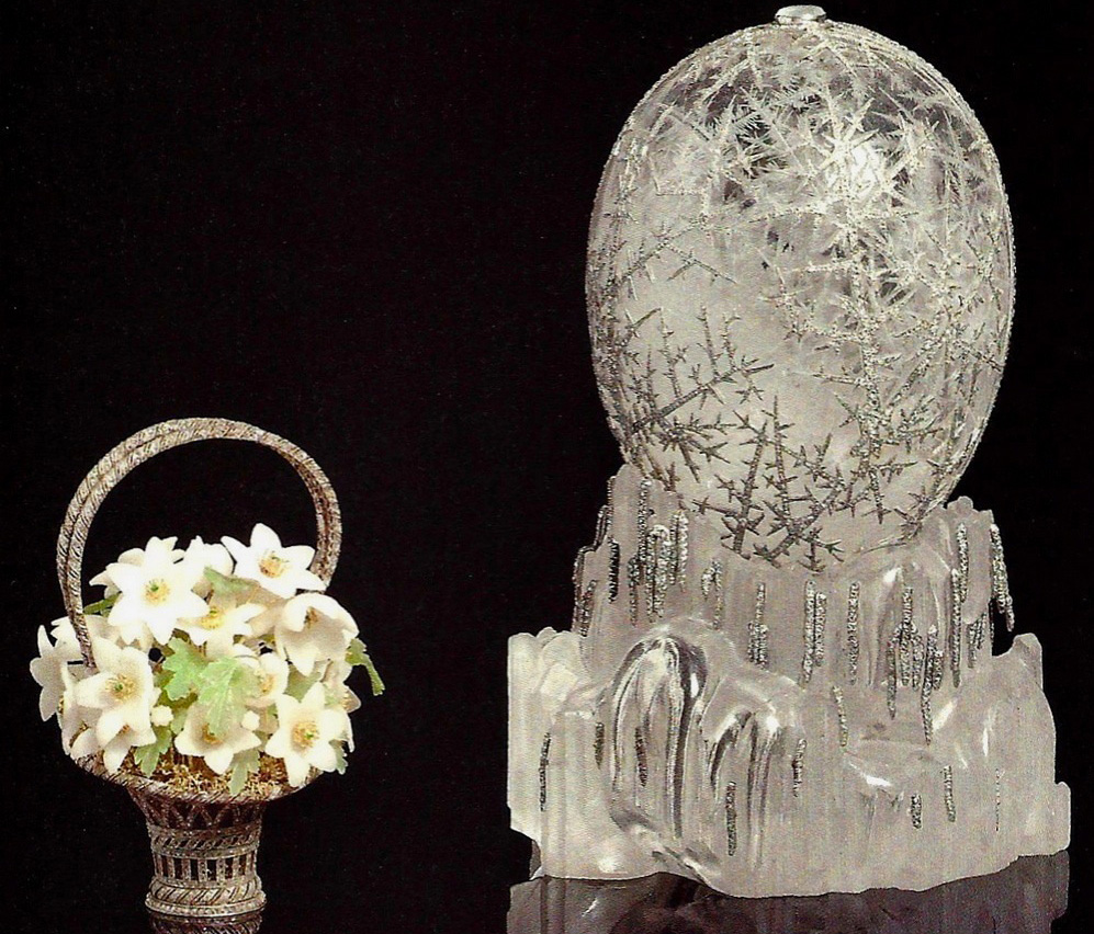 Dr Geza Von Habsburg's Favourite Fabergé Egg From The 43 Eggs By Him Is The Winter Imperial Egg Made In 1913. PC- Pinterest