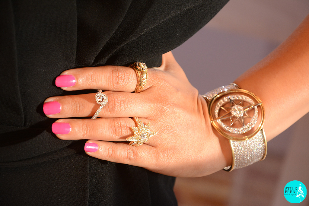 Trend Alert: Wearing A Cuff And Multiple Rings At Different Levels