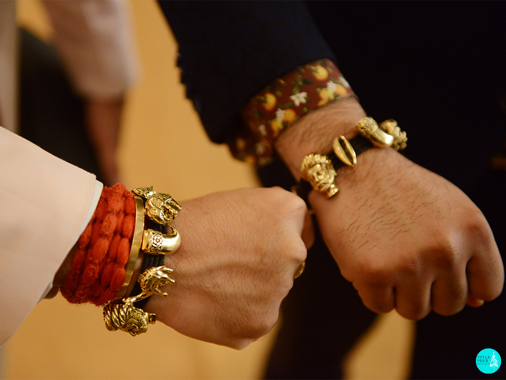 Mens Gold Bracelet By Khanna Jewellers