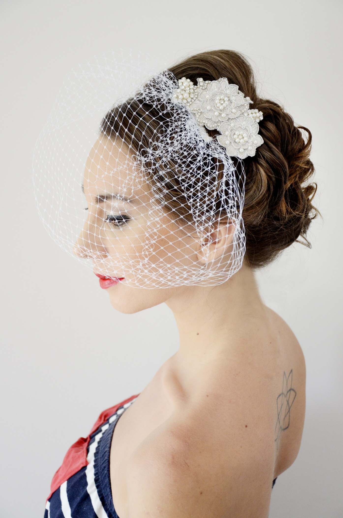 Style Productions Pretoria bride make-up and hair styling 5