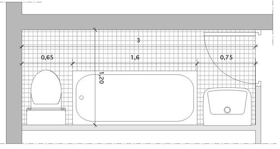 5 Plans Pour Agencer Une Salle De Bains Couloir I Styles De Bain