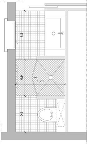 La Douche Entre Toilettes Et Point D Eau Dans Une Salle De Bains Couloir Styles De Bain