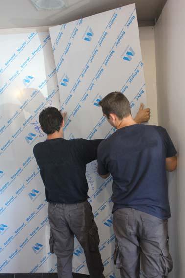 Habiller Les Murs De La Salle De Bains Avec Des Plaques En